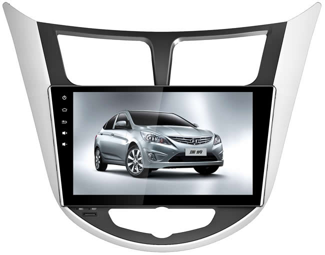 Deckless Quad Core 9 Android 6.0 Car DVD Player hyundai Solaris Verna Accent wit 3G WIFI Bluetooth kafa üniteleri teyp