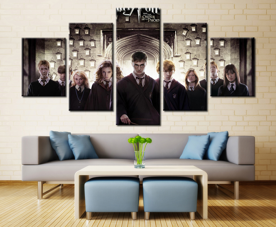 2017 Wall Art Canvas Modern Painting Movie Printed Pictures Home Decoration Unframed